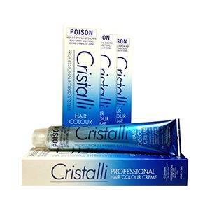 Group of Cristalli Hair Colour Products