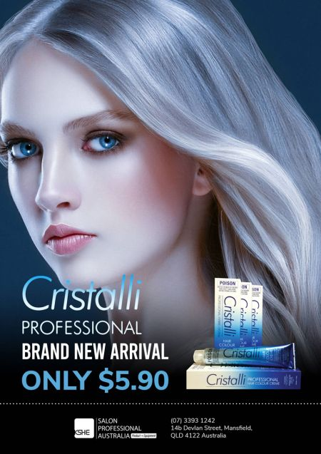 Cristalli Professional Hair Colour for $5.90