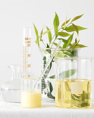 Measuring instruments with Organic Oils and plant